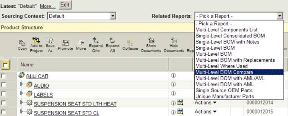 Tutorial: Creating A Multi-Level Bill Of Material Compare Report