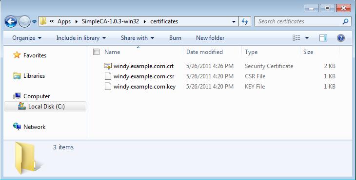 Generate self-signed SSL certificate/use to secure Windchill