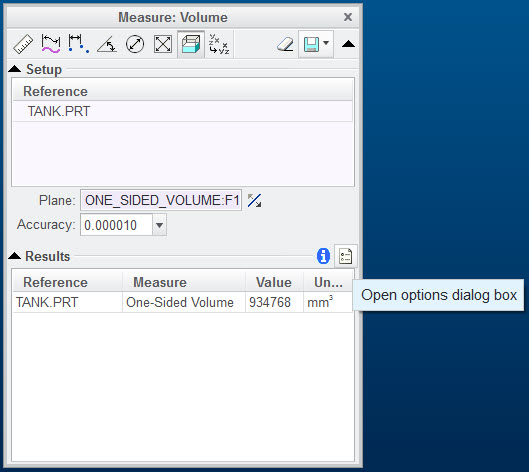 Opening the Options Dialog Box