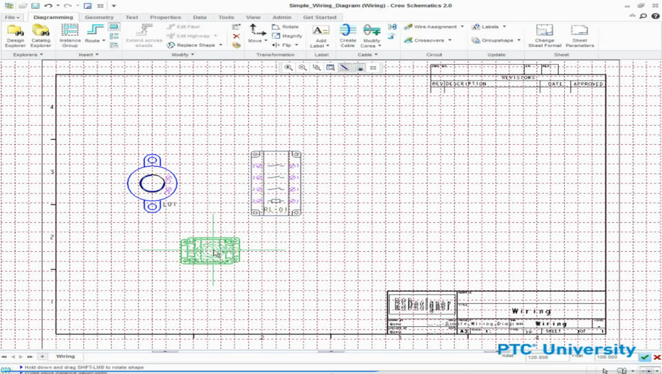 Creo Schematics Ptc Learning Connector Creating A Wire Harness Wiring Diagrams