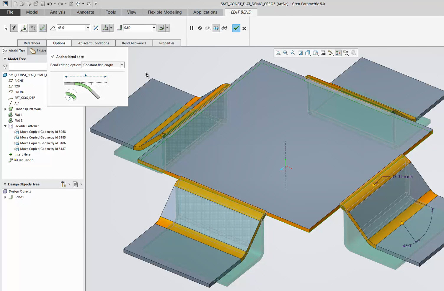 Creating Slice Mesh by Plane | PTC Learning Connector