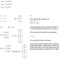 Matrices in Algebra 1: Mathcad 15.0 Illustrates the Solutions Clearly