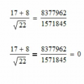 A Brief Lesson in Numerical Equality with Mathcad 15.0
