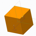 Creating a Cube in Creo Parametric 1.0