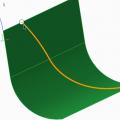 Creating Datum Curves Through a Point or Vertex