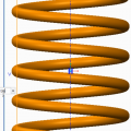 Creating Helical Sweeps for Springs