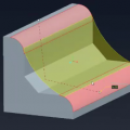 Rolling Ball Method - Surface to Surface Round