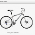 Mountain bike concept using CREO 2.0 LAYOUT
