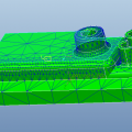Export *.ans (for ANSYS) file or *.nas (for Nastran) file from Creo Simulate
