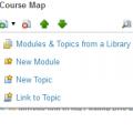 Inserting New Topics into Custom eLearning Courses