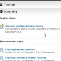 Custom recommendations in Learning Connector for Creo