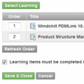 Precision LMS Quicktip: Creating Learning Paths