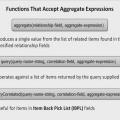 Aggregate Computed Expression Functions