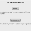 Test Management Computed Expression Functions