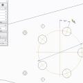 Creating Associative Bolt Circles