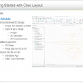 Creo Layout Overview