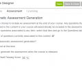 Precision LMS Course Designer - Created an Embedded Course Assessment
