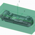 Locate reference part and create workpiece