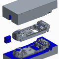 Core/Cavity design - Volume Split