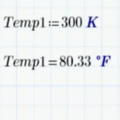 Using Temperature Units