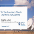IoT Transformation in Discrete and Process Manufacturing