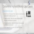 Roadmap - Determine Use Case and Prove ROI