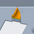 New User Interface for Twist in Sheetmetal Design