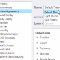 Themes in the User Interface